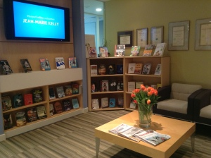 HarperCollins CA reception area.